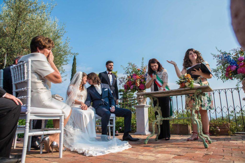 Trouwceremonie Casa la Carrubbazza