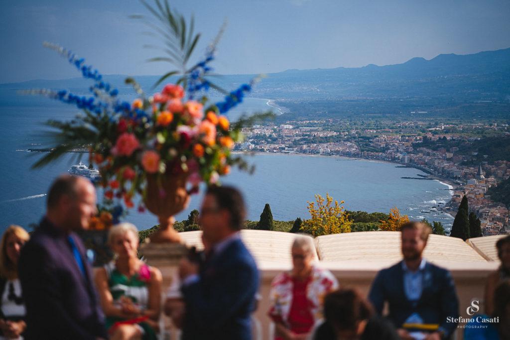 trouwceremonie Grieks terras Timeo