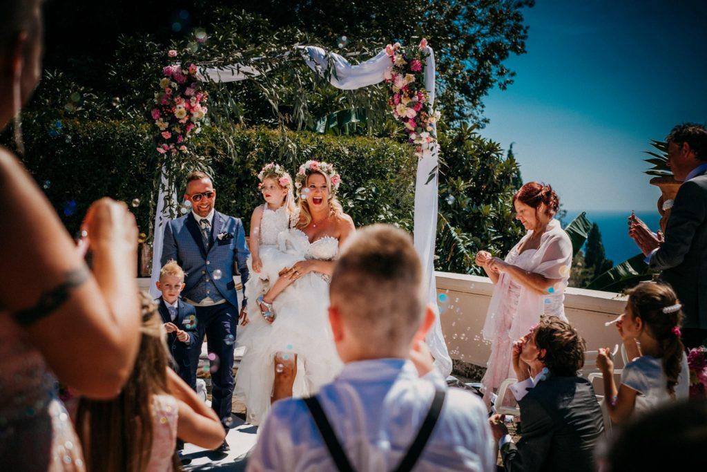 Trouwceremonie Sicilië, Timeo