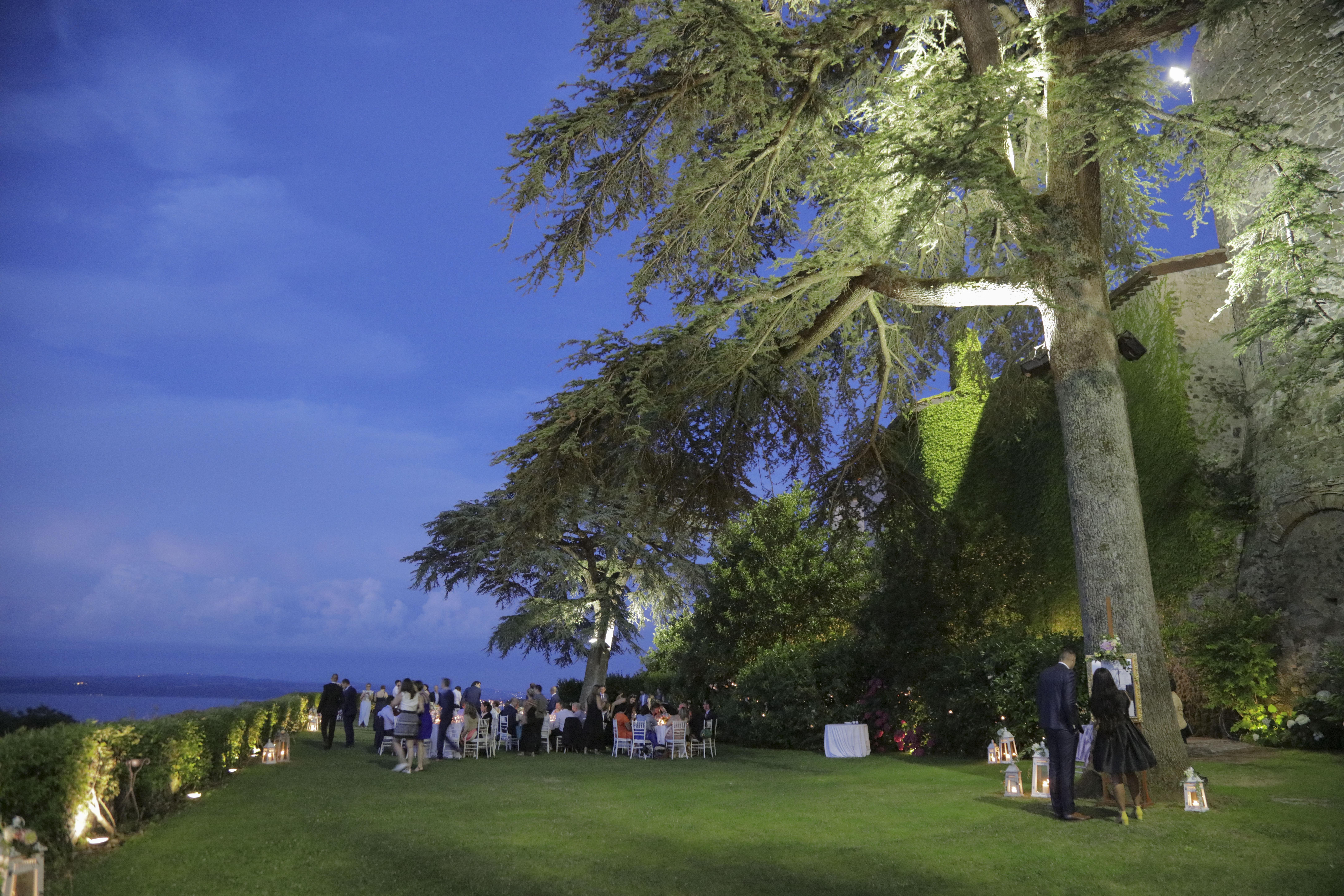 Huwelijk in Bracciano