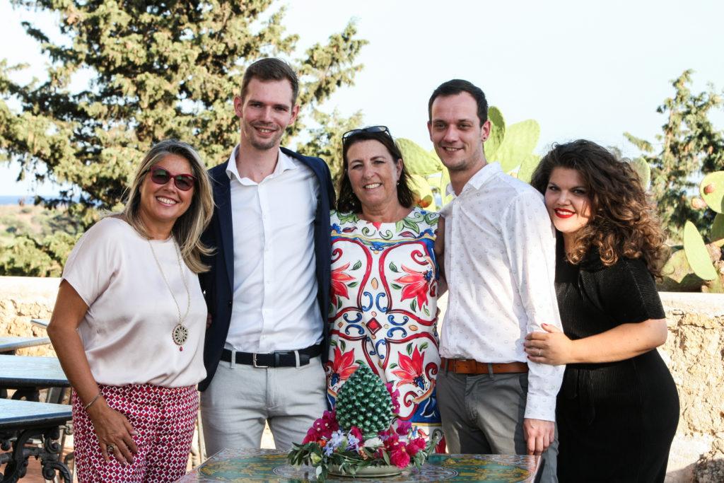 Gay wedding Sicily samen met de wedding planners in Noto