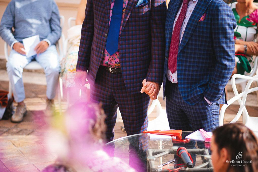 bruidspaar gay wedding Sicily in Taormina