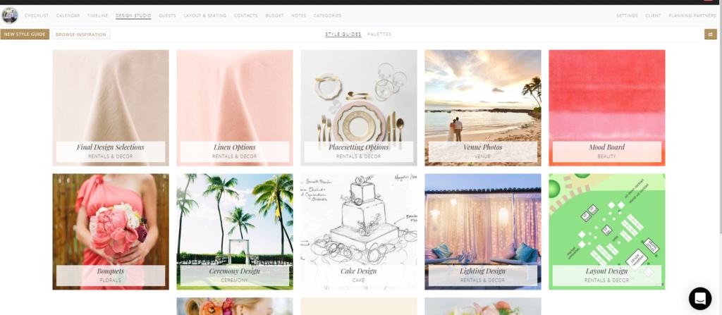 Aisle Planner online planning platform design studio