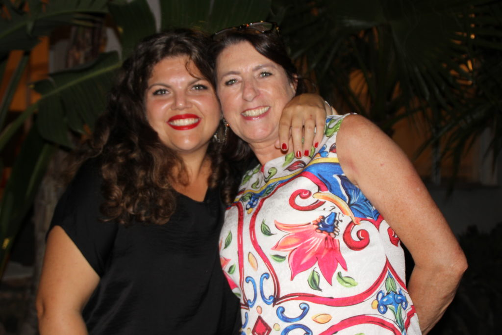 Ysis en Thea Wedding planners van Sicily Love Weddings / Trouwen op Sicilië